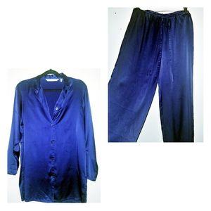 Pure Silk Victoria's Secret long Pajamas